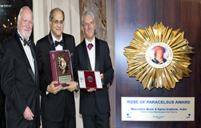 The Rose of Paracelsus Award, by EMA and Socrates Nomination Committee (Oxford UK)