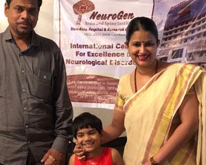 Vidushi with Dr Nandini at Varanasi