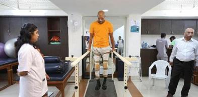 Regular rehabilitation of SCI patient